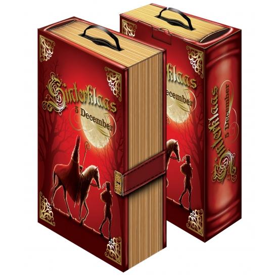Decoratie boek van Sinterklaas