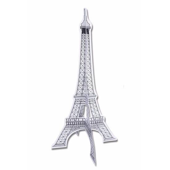 Decoratie Eiffeltoren papier
