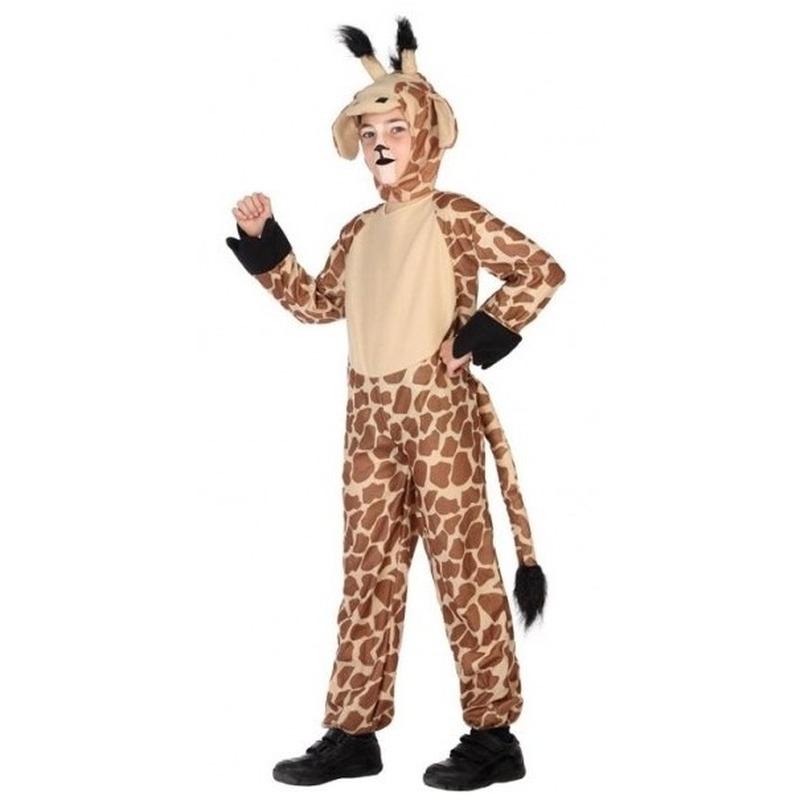 Dierenpak verkleed kostuum giraffe voor kinderen