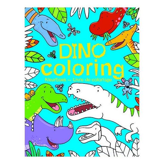 Dinosaurus kleurboek