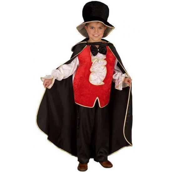 Dracula halloween kostuum voor kinderen