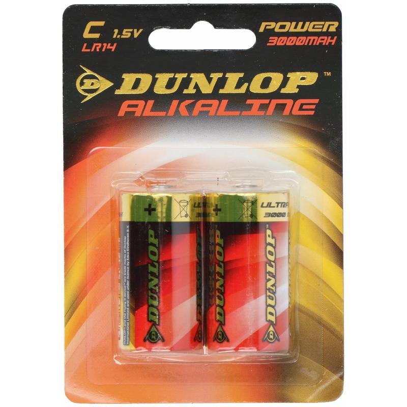 Dunlop LR14 C batterijen 2 stuks