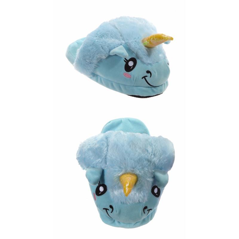 Sloffen en Pantoffels Eenhoorn pantoffels voor kinderen blauw