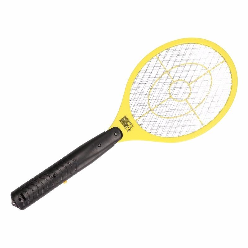 Met deze vliegenmepper kunt u vervelende insecten makkelijk de baas, houd het knopje ingedrukt en met slechts ...