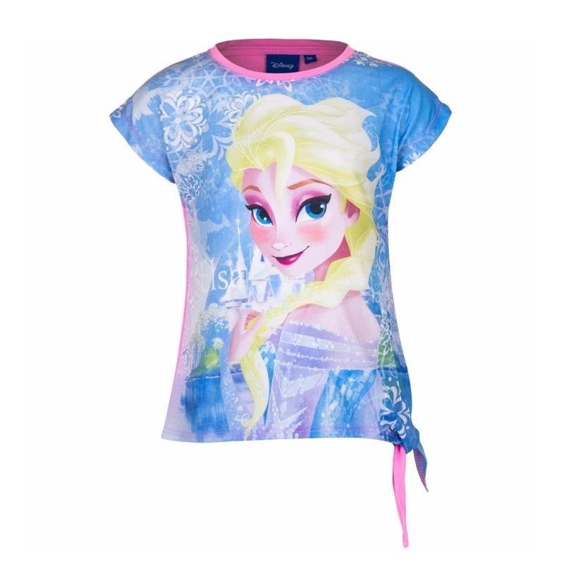 Disney Elsa t shirt roze voor meisjes T shirts en poloshirts