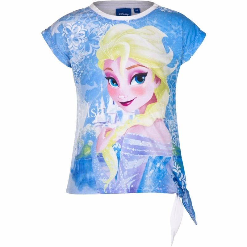 Elsa t shirt wit voor meisjes Disney T shirts en poloshirts
