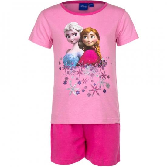 €1000000 wijzer in geldzaken Disney Frozen korte pyjama meisjes roze
