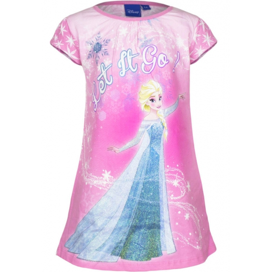 Overige kleding Disney Frozen nachthemd Let it go roze