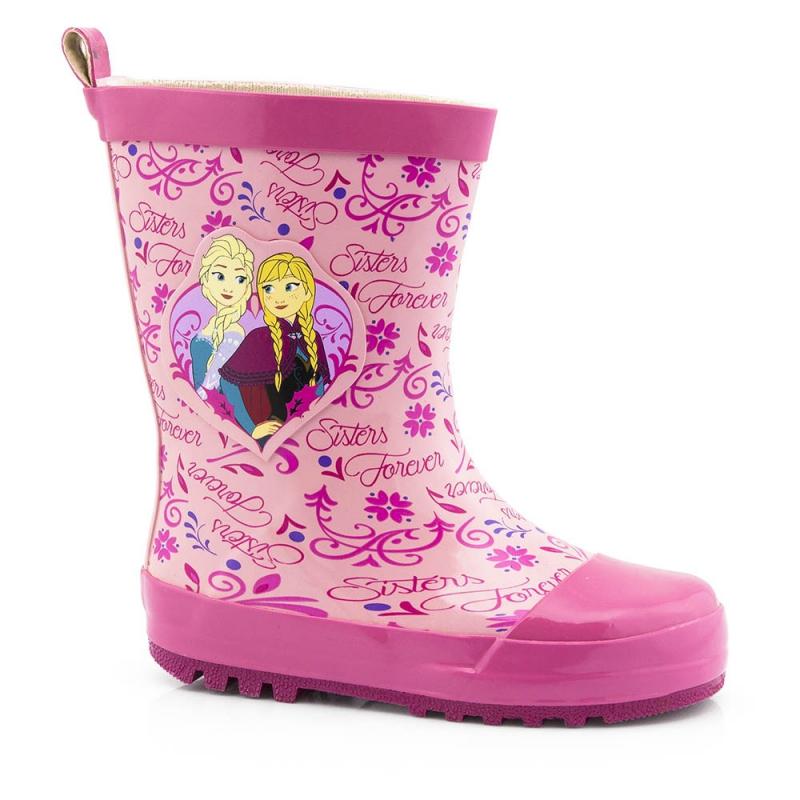 Schoenen en laarzen Disney Frozen regenlaarzen roze