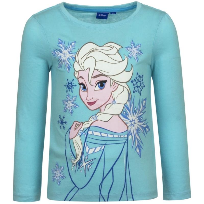T shirts en poloshirts Disney Frozen t shirt Elsa blauw