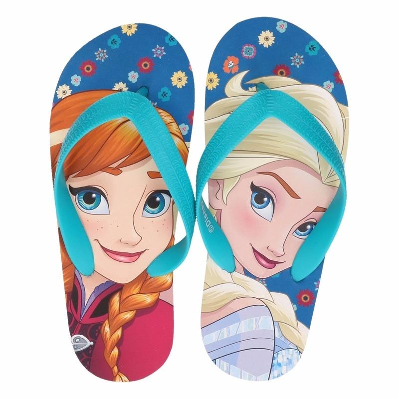 Schoenen en laarzen Disney Frozen teenslippers Anna en Elsa voor meisjes