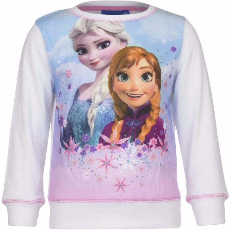 Truien en sweaters Disney Frozen trui wit voor meisjes