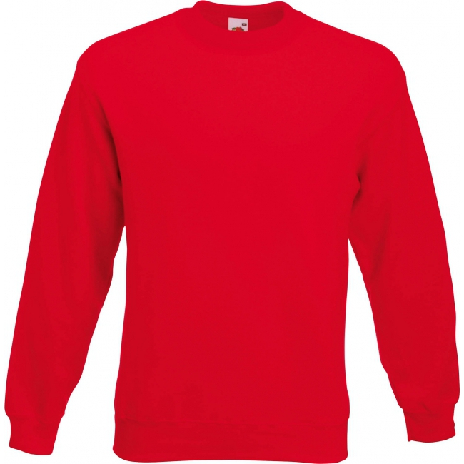 Fruit of the Loom sweater rood Fruit Of The Loom Truien en sweaters
