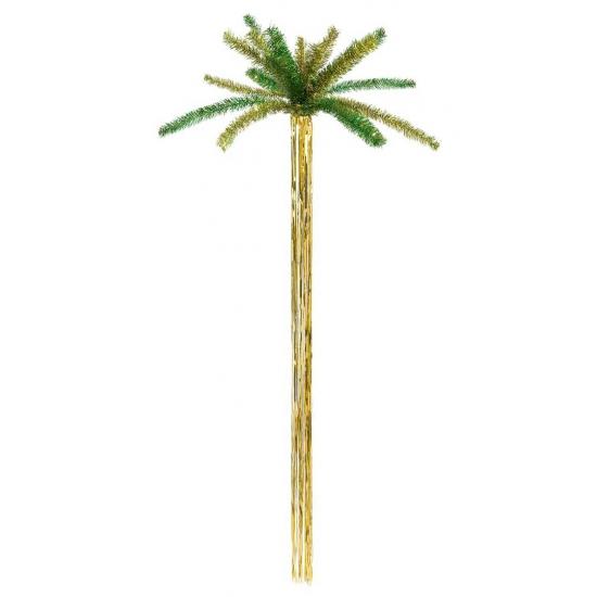 Hawaii feestartikelen Bellatio Glitter palmboom 160 cm