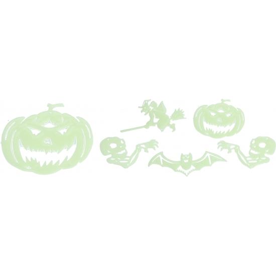 Glow in the dark Halloween stickers