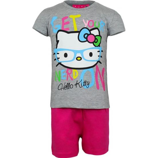 Grijze Hello Kitty pyjama kort Hello Kitty Overige kleding