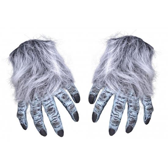 Grijze horror handen halloween accessoires