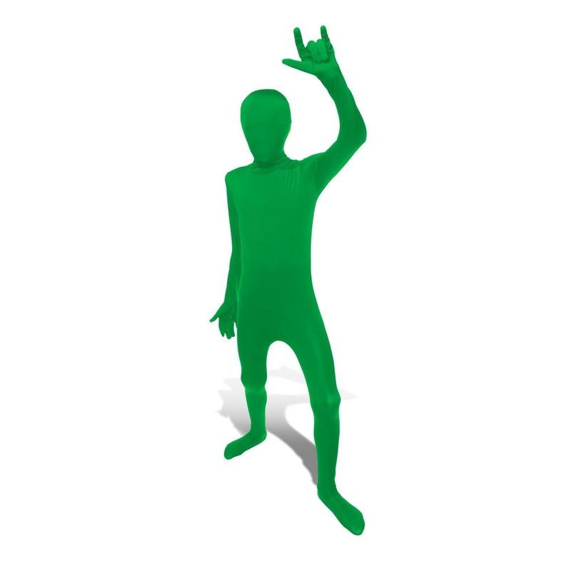 Groene morphsuit voor kinderen