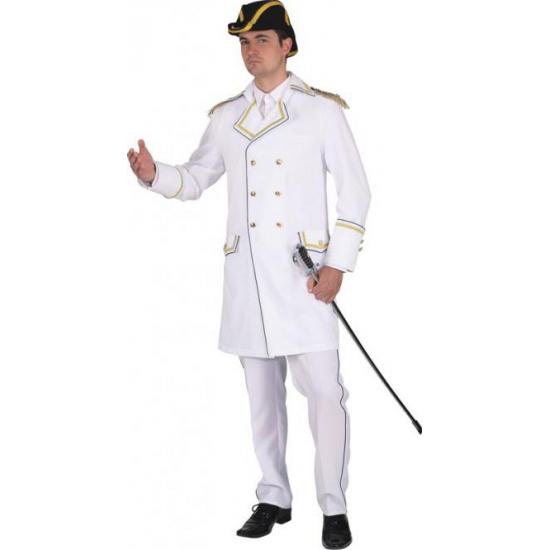 Grote maat luxe admiraalsjas