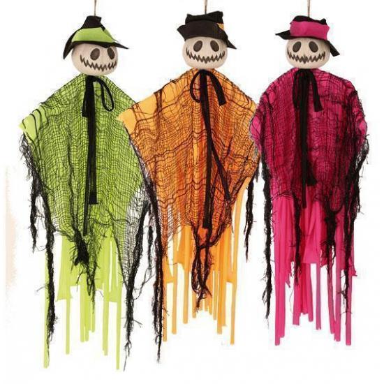 Halloween - Decoratie pompoen pop