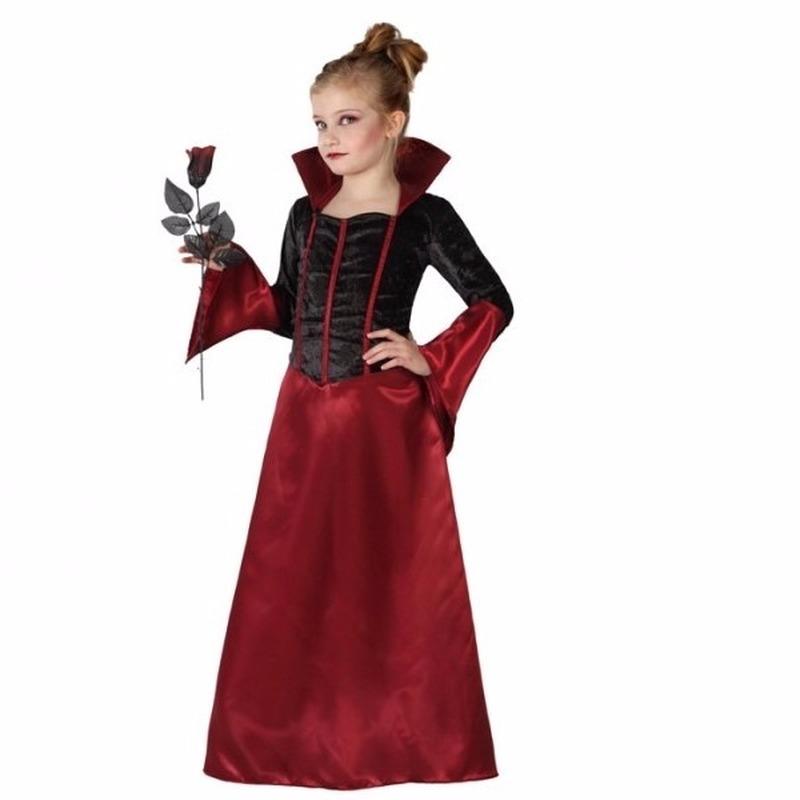 Halloween dracula jurk voor meisjes
