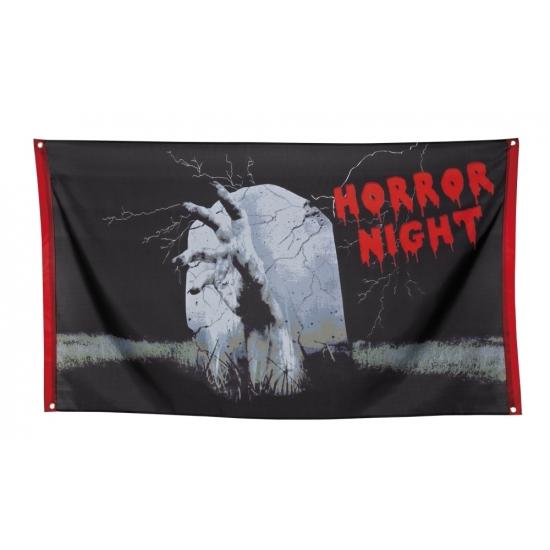 Halloween - Gevelvlag decoratie Horror night