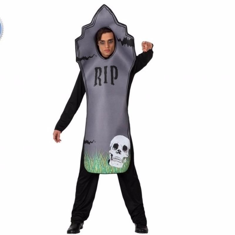 Halloween Grafsteen kostuum voor volwassenen