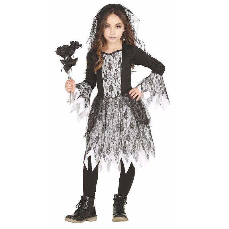 Halloween - Halloween bruid kostuum voor meisjes
