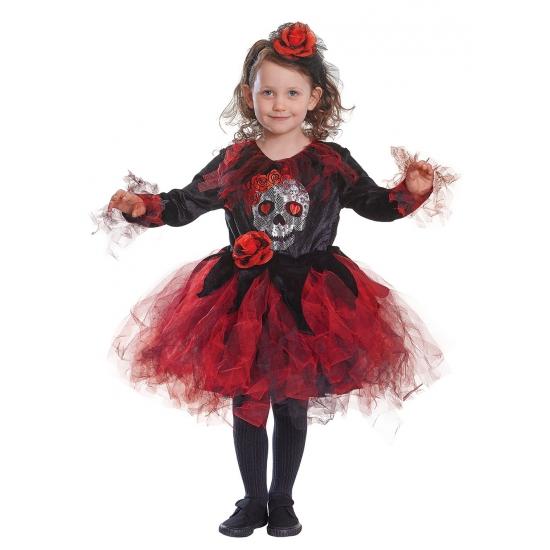 Halloween - Halloween jurkje met doodshoofd