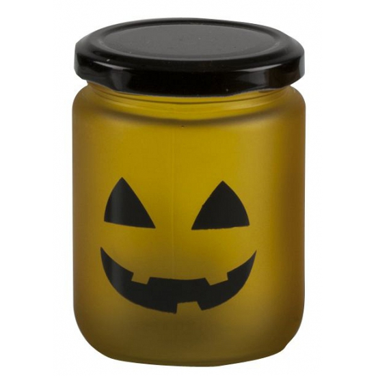 Halloween - Halloween LED theelicht geel