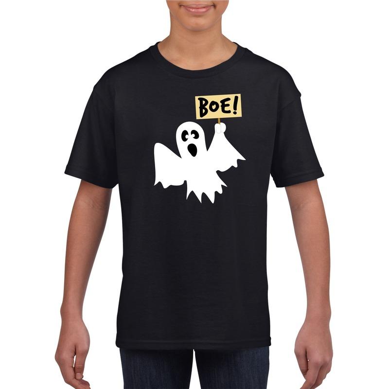Halloween - Halloween spook t-shirt zwart kinderen