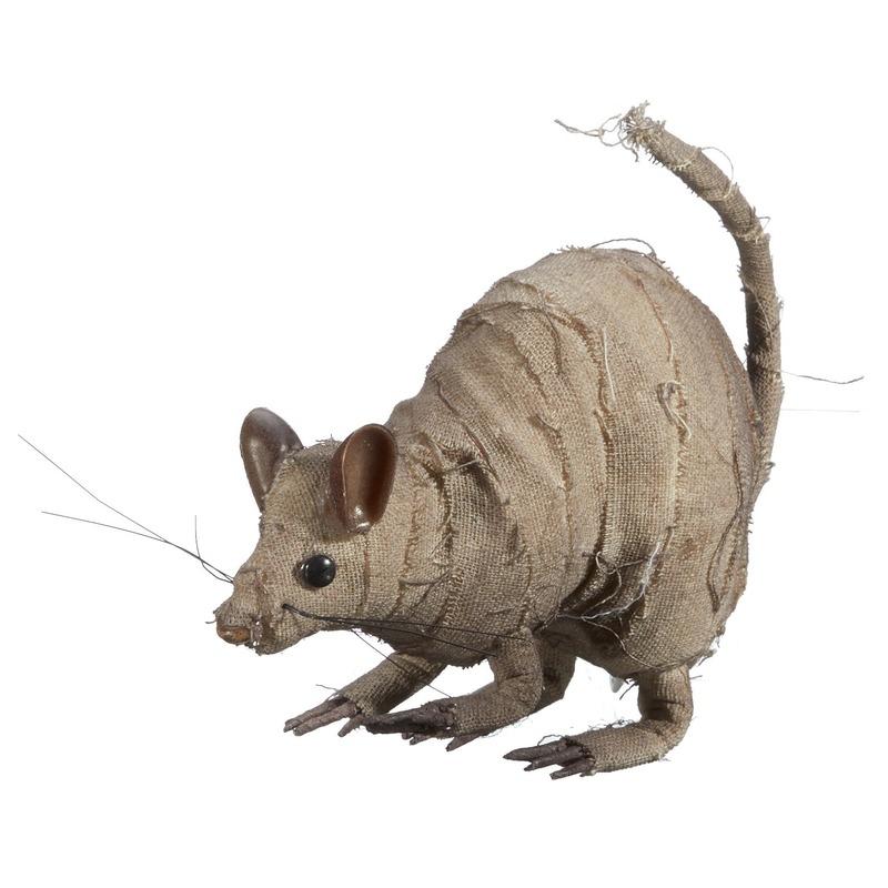 Halloween - Halloween versiering rat mummie 14 cm