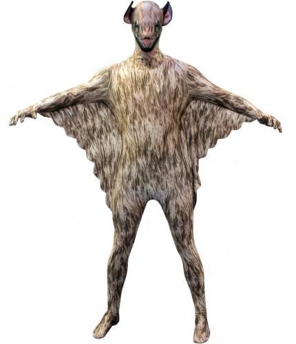 Halloween - Originele morphsuit vleermuis voor kinderen