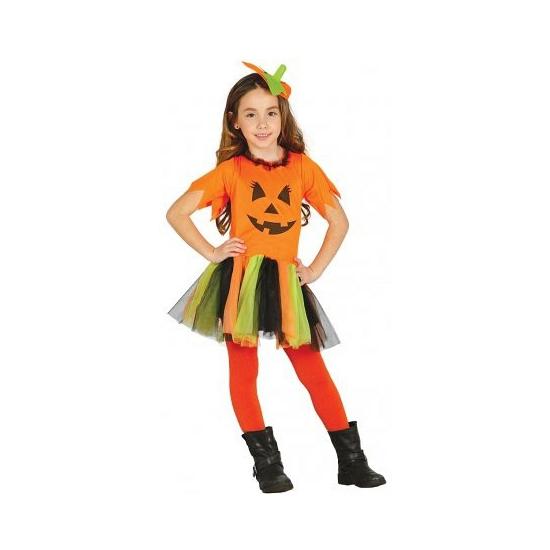Halloween - Pompoen jurkje voor meisjes
