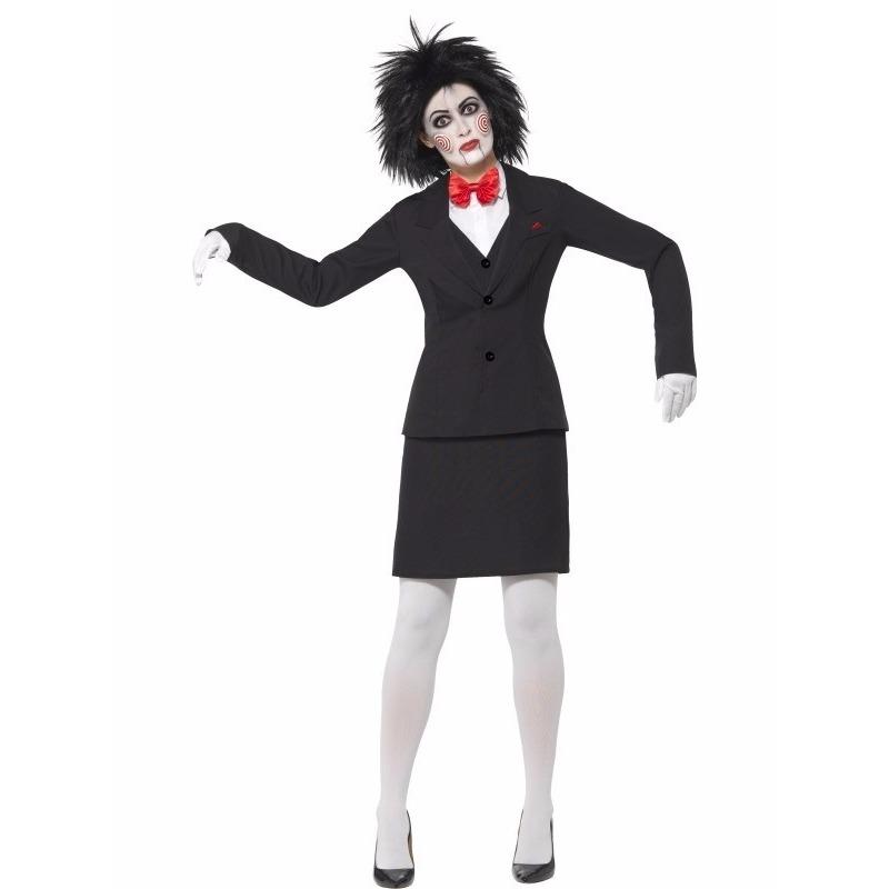 Halloween Saw Jigsaw dames kostuum