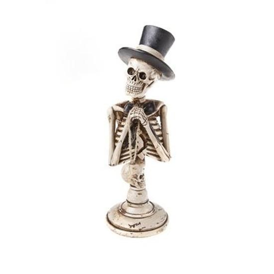Halloween - Skelet halloween decoratie beeldje 29 cm