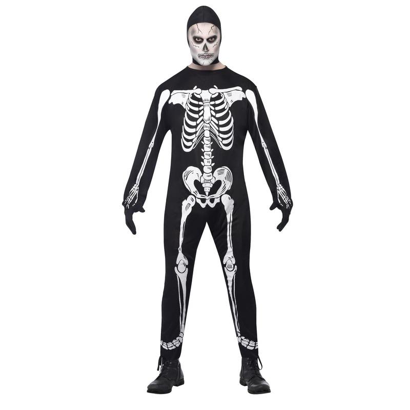 Halloween skelet kostuum voor volwassenen