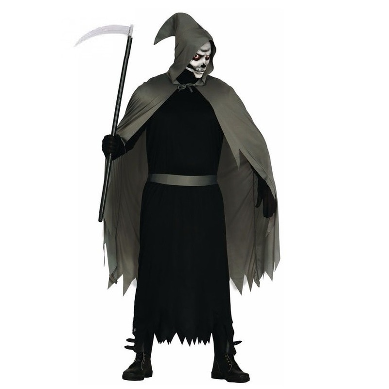 Halloween skelet penumbra heren kostuum
