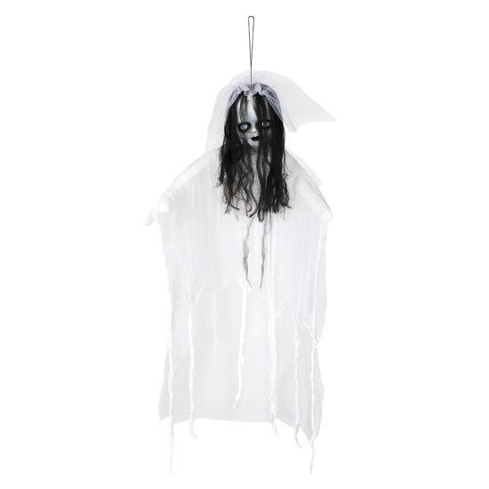 Halloween versiering horror bruid pop 90 cm