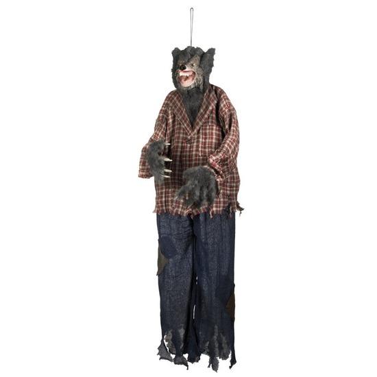 Halloween versiering weerwolf pop 150 cm