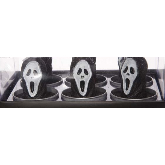 Halloween waxinelichtjes Scream