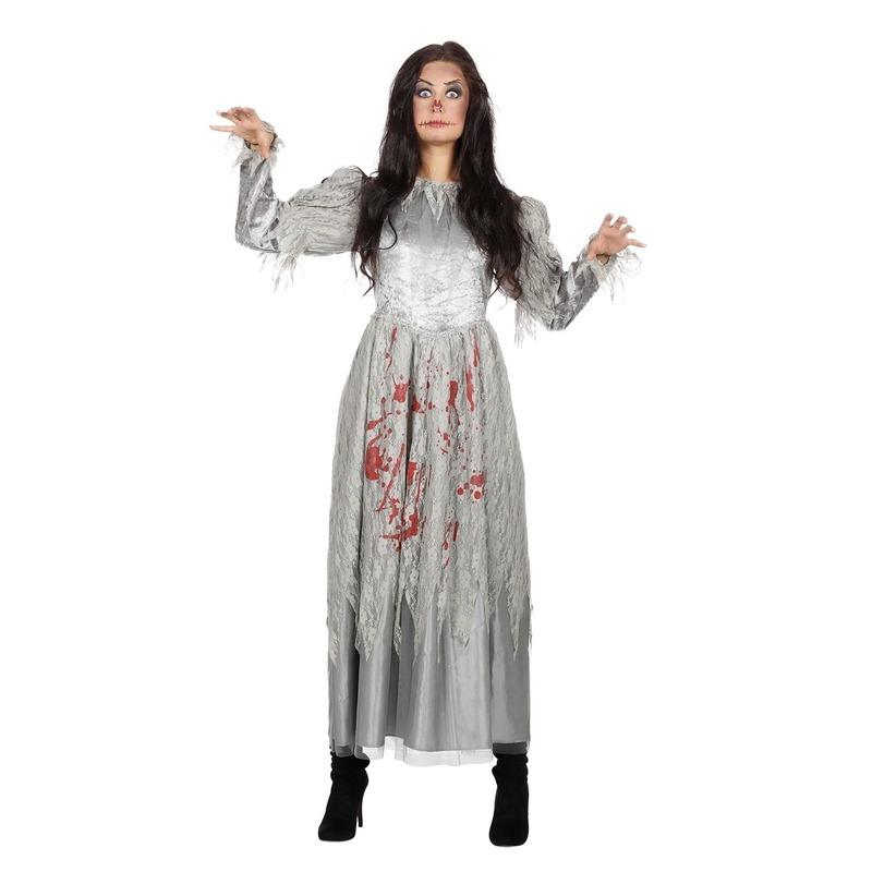 Halloween - Zombie halloween bruidsjurk voor dames