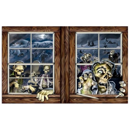 Halloween zombie scenesetter