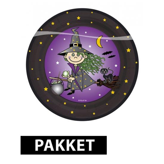 Heksen thema kinderfeest pakket