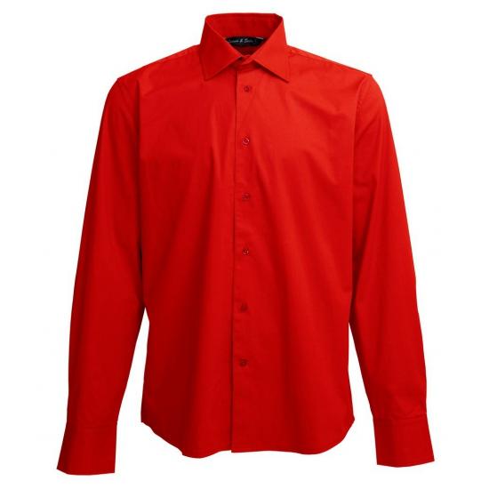Overhemden Lemon Soda Heren overhemd rood