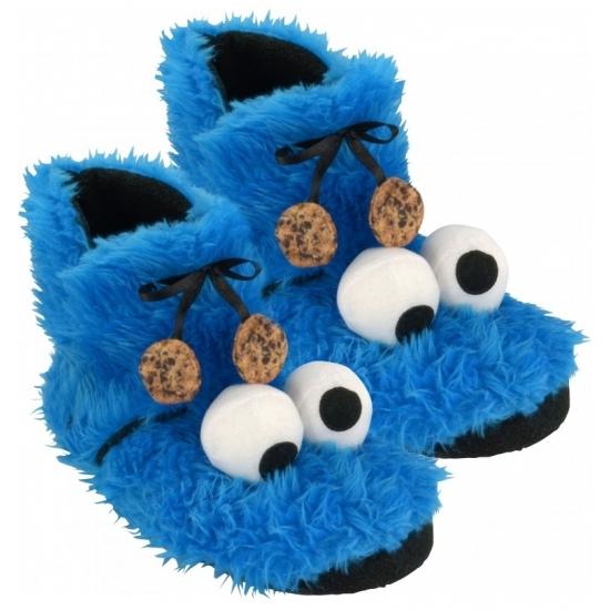 Hoge sloffen Koekiemonster Sesamstraat Sloffen en Pantoffels