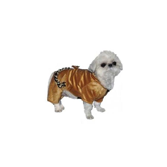 Honden kostuum look-a-like huispak