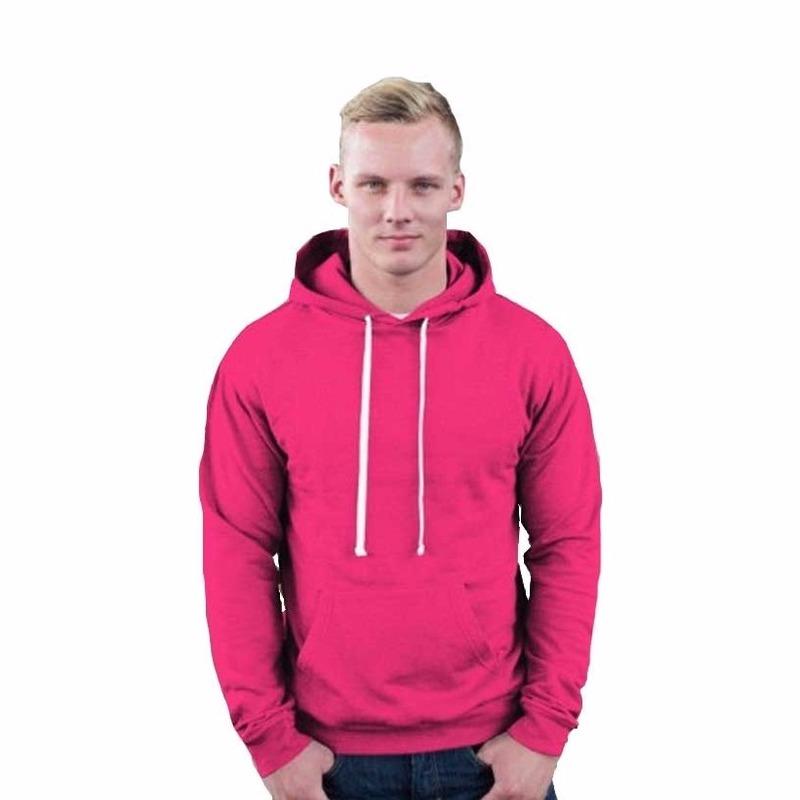 Truien en sweaters Hooded sweater roze voor heren