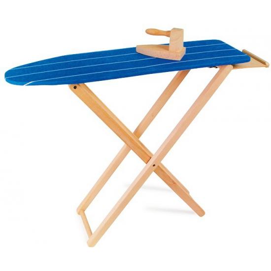 Houten speelgoed strijkplank