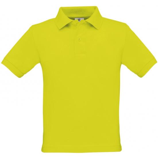T shirts en poloshirts B C Jongens poloshirt lime groen